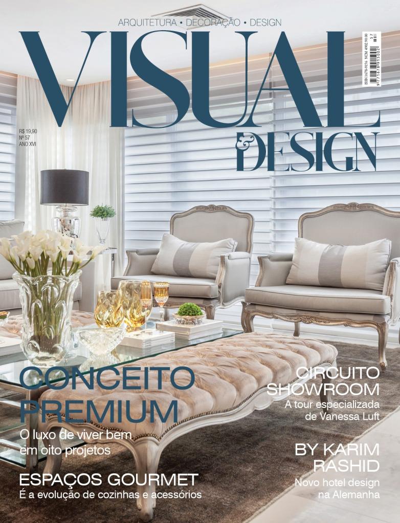 REVISTA VISUAL DESIGN - CONCEITO PREMIUM - CAPA